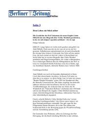 21. Nov. 2007 Berliner Zeitung/Seite 3 (Holger ... - Jutta Ditfurth