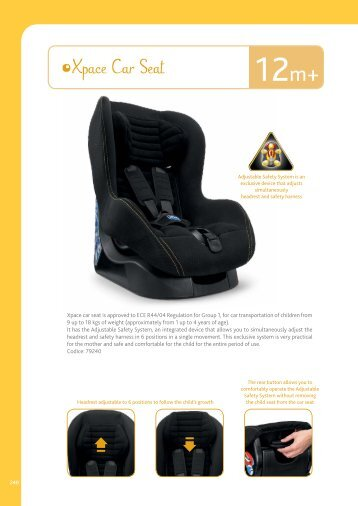 Xpace Car Seat - Chicco