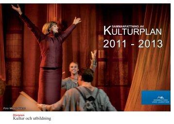 Broschyr: Kulturplanen i sammanfattning - Norrbottens läns landsting