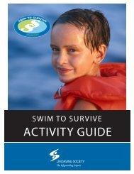 Swim to Survive Activity Guide - Lifesaving Society