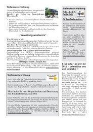 Stellenausschreibung - Gemeinde Eberstalzell
