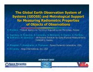 The Global Earth Observation System of Systems ... - PMOD/WRC