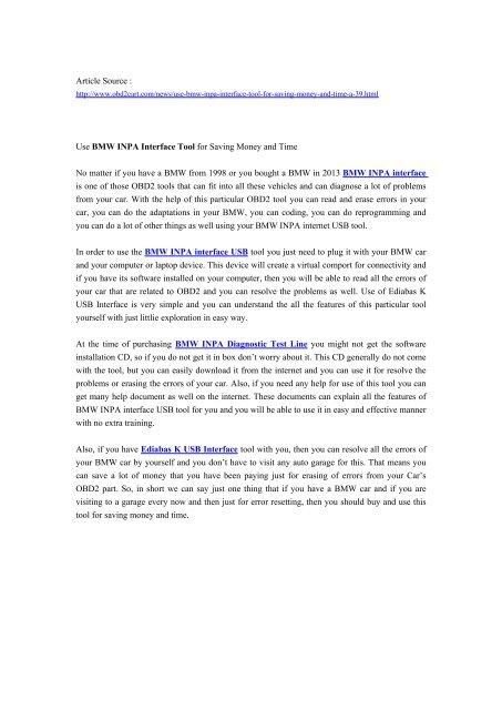 bmw inpa manual pdf