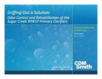Odor Control and Rehabilitation of the Sugar ... - NC AWWA-WEA