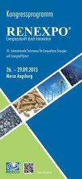 Programm - beim Chemie-Cluster Bayern