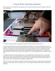 Using the Roller-Type Rotary attachment... - Rabbit Laser USA