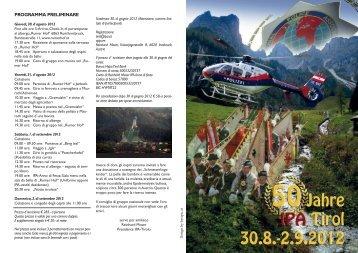 Download Programmfolder (Italiano, Deutsch, English) - IPA Tirol