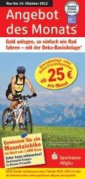 Angebot des Monats® - Sparkasse Allgäu