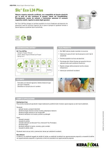 slc Eco L 34 Plus.pdf - Maifredi Costruzioni