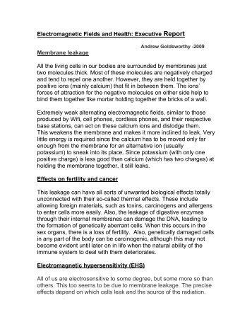 Em radiation research paper