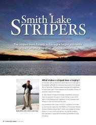 Smith Lake Stripers - Alabama Department of Conservation and ...