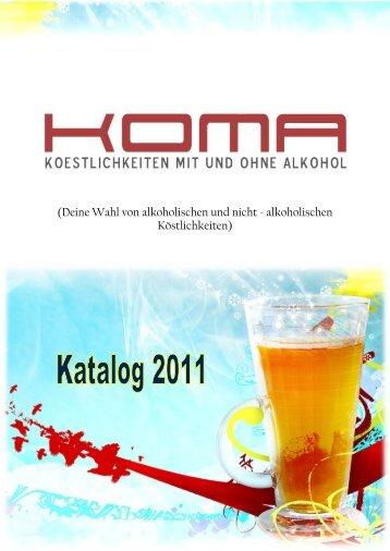 (Deine Wahl von alkoholischen und nicht - alkoholischen ...