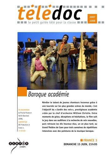 Baroque académie - CNDP