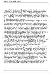 Bericht Klosterschule Hamburg - Deutscher Volleyball-Verband
