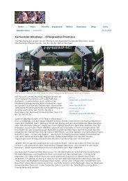 Karwendel BikeDays - Erfolgreiche Premiere - Sog Events