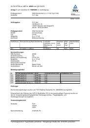 GUTACHTEN zur ABE Nr. 46560 nach §22 StVZO Anlage 7 zum ...