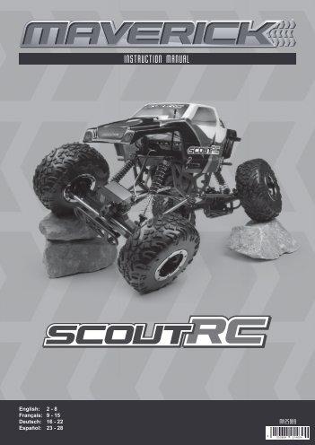 Scout Manual ENG - German Rc