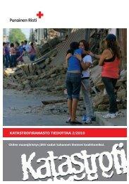 Apua! Katastrofirahasto tiedottaa 2/2010 (pdf) - Punainen Risti