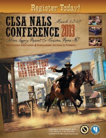 Join Us! - California Land Surveyors Association
