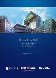Mid-Year Report 2011 Baltic States Capitals - Ober-Haus