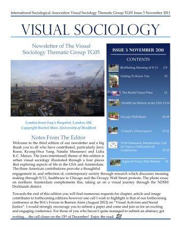 Visual Sociology Nov 2011 final - International Sociological ...