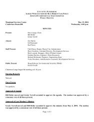 Approved 6/2/04 Page 1 of 3 Municipal Services Center May 19 ...