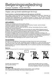 Hjulløfter (WD1500) - CompaC