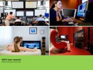 Designing HDTV user experience with NVIDIA card - ux Studio