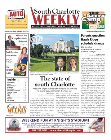 in south Charlotte - Carolina Weekly Newspapers
