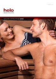 SAUNA CATALOGUE 2013 - Helo Sauna & Steam