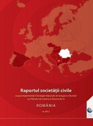 Raportul societăţii civile - Decade of Roma Inclusion