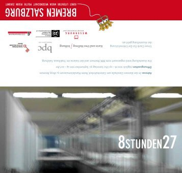 Einladung (pdf, 146.5 KB) - Senatspressestelle - Bremen