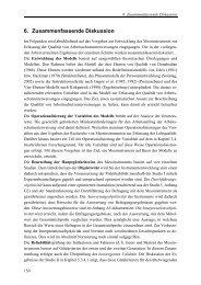 6. Zusammenfassende Diskussion - Ruhr-Universität Bochum