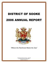 2006 Annual Report w.. - District of Sooke