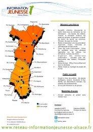 Carte Reseau IJ Alsace au 15 04 13 - Réseau Information Jeunesse ...