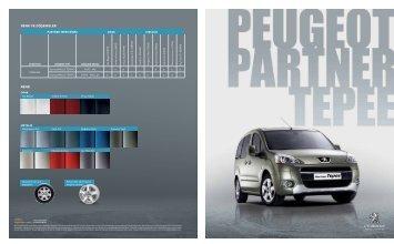 RENK VE DÖfiEMELER RENK - Peugeot