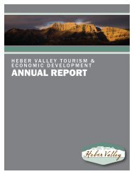 2012 Annual Report - Heber Valley