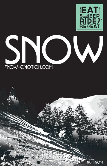SNOW - DIE SEELE DES WINTERSPORTS