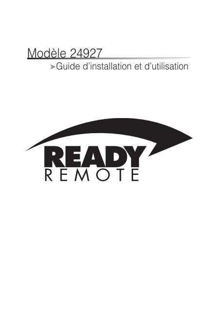 Modèle 24927 - Ready Remote