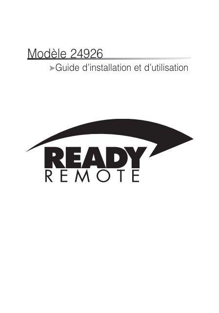 Modèle 24926 - Ready Remote