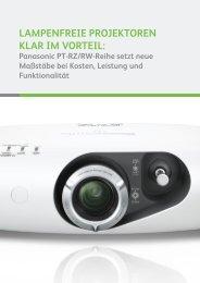 lampenfreie projektoren klar im vorteil - Panasonic Business