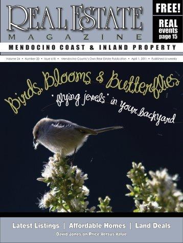Birds, Blooms & Butterflies - Real Estate Magazine