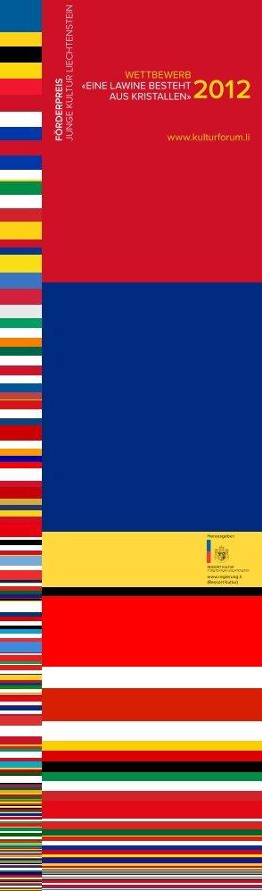 WETTBEWERB - Regierung des Fürstentums Liechtenstein