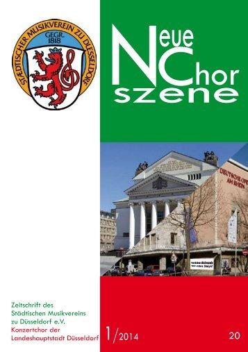 szene NChor - beim Städtischen Musikverein zu Düsseldorf eV