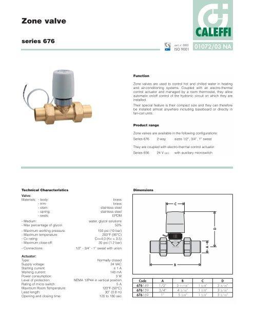 caleffi zone valve wiring diagram zone valve caleffi  zone valve caleffi