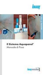 Il Sistema Aquapanel® Manuale di Posa - Knauf