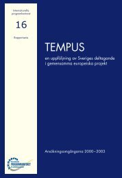 TEMPUS - Internationella programkontoret för utbildningsområdet