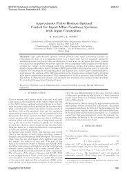 Approximate Finite-Horizon Optimal Control for Input-Affine ...