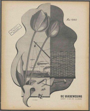 (1940) nr. 9 - Vakbeweging in de oorlog