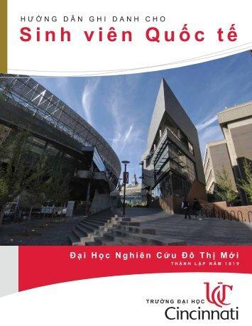 HƯỚNG DẪN GHI DANH CHO Sinhviên Quốctế - University of ...